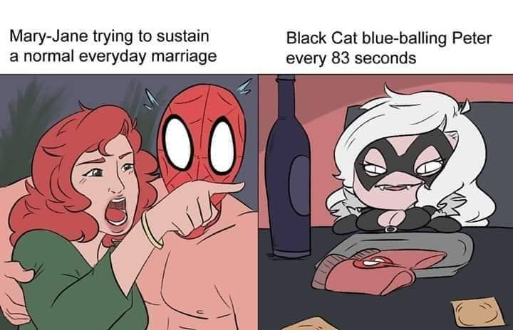 Mary Jane Yelling at Black Cat