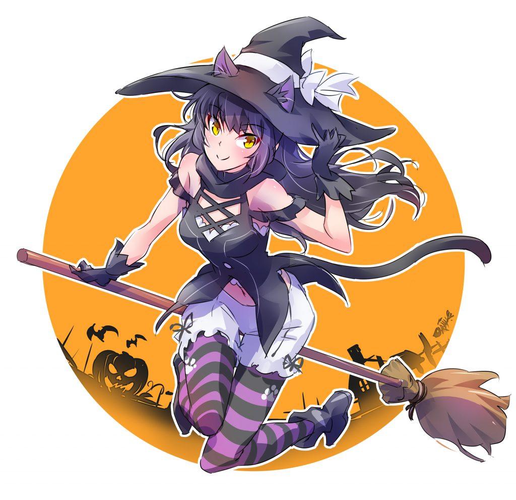 Witch Blake art by mojojoj27827860