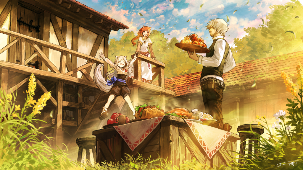 Spice and Wolf VR 2 Key Visual