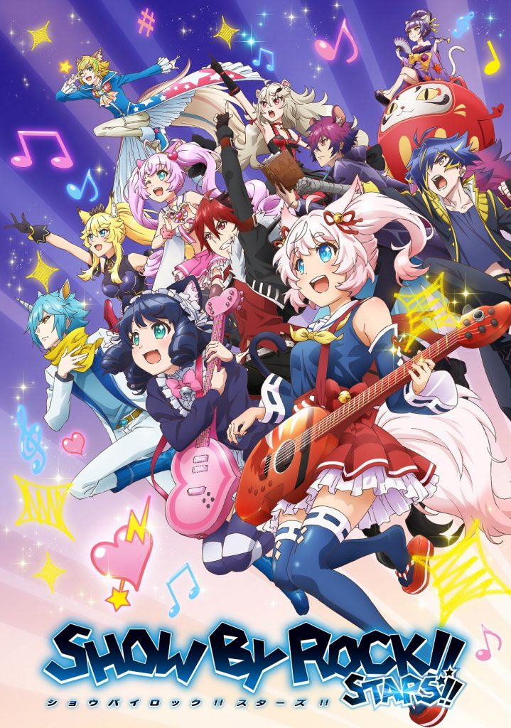 Show By Rock!! Stars!! Promo Art