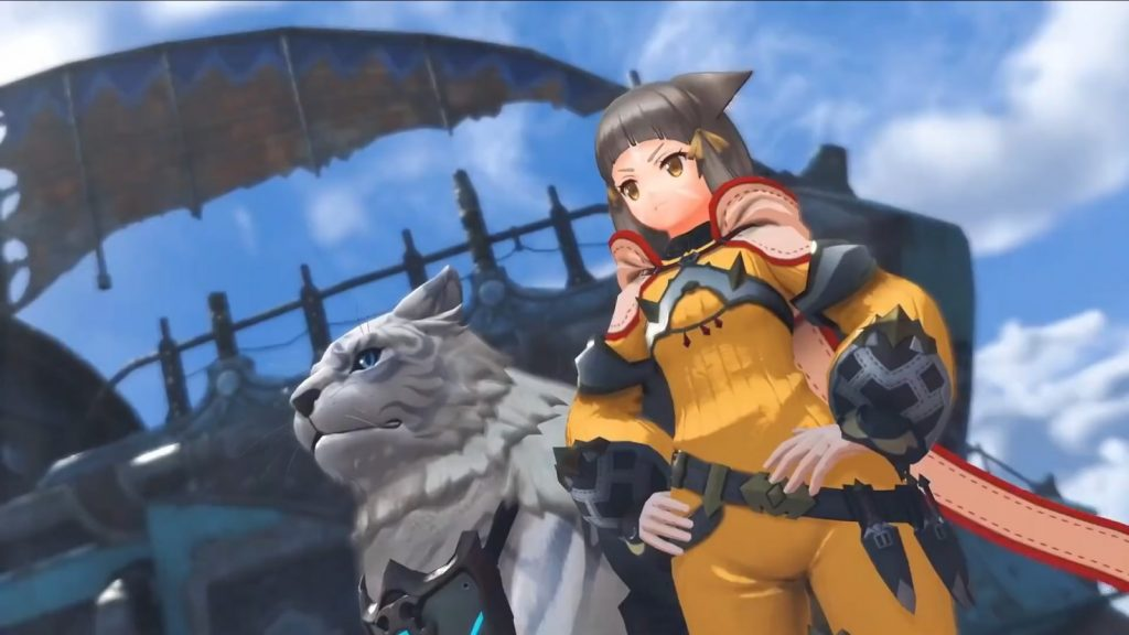 Nia from the Pyra & Mythra Smash Trailer