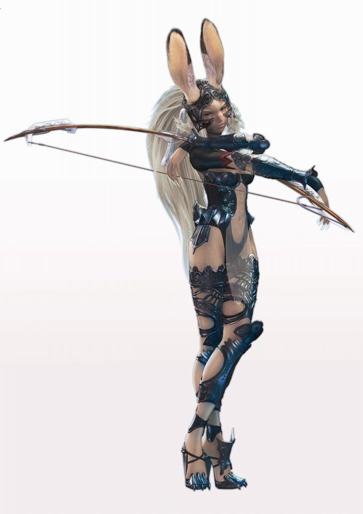 Fran from Final Fantasy XII Official Art by Yoshida Akihiko