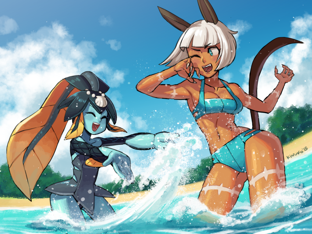Ms. Fortune and Minette