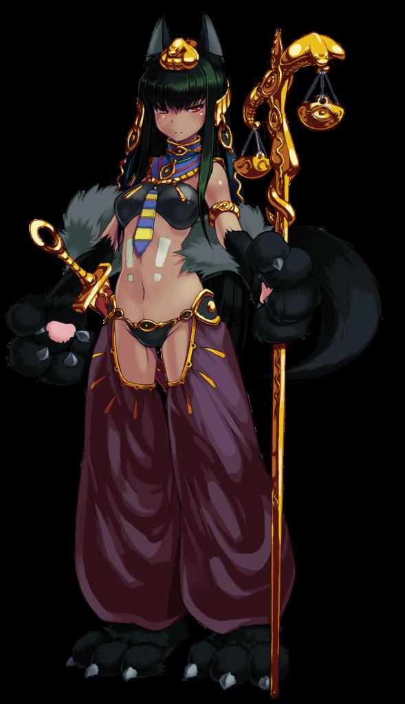 Anubis from Monster Girl Encyclopedia Official Art by Kenkou Cross